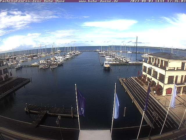 Webcam Yachthafenresidenz Hohe Düne