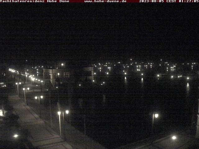 webcam der yachthafenresidenz hohe d ne in warnem nde