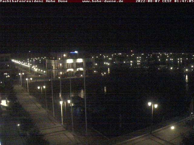 Rostock webcam - Yachthafenresidenz Hohe Duene Baltic sea webcam, Mecklenburg-Vorpommern, Warnemuende