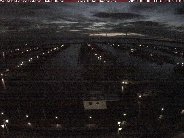Rostock webcam - Yachthafenresidenz Hohe Duene View webcam, Mecklenburg-Vorpommern, Warnemuende