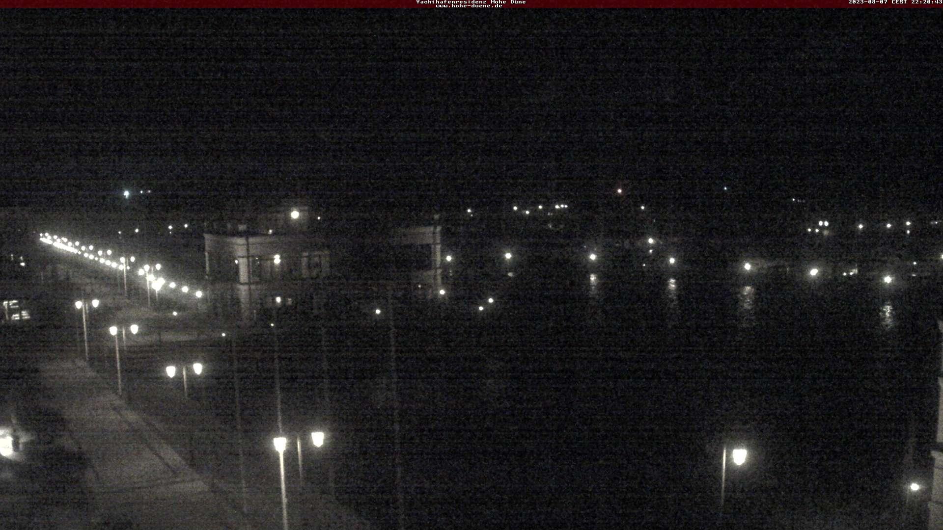 Webcam vom Dach der Yachthafen Residenz Richtung Yachthafen Hohe Düne